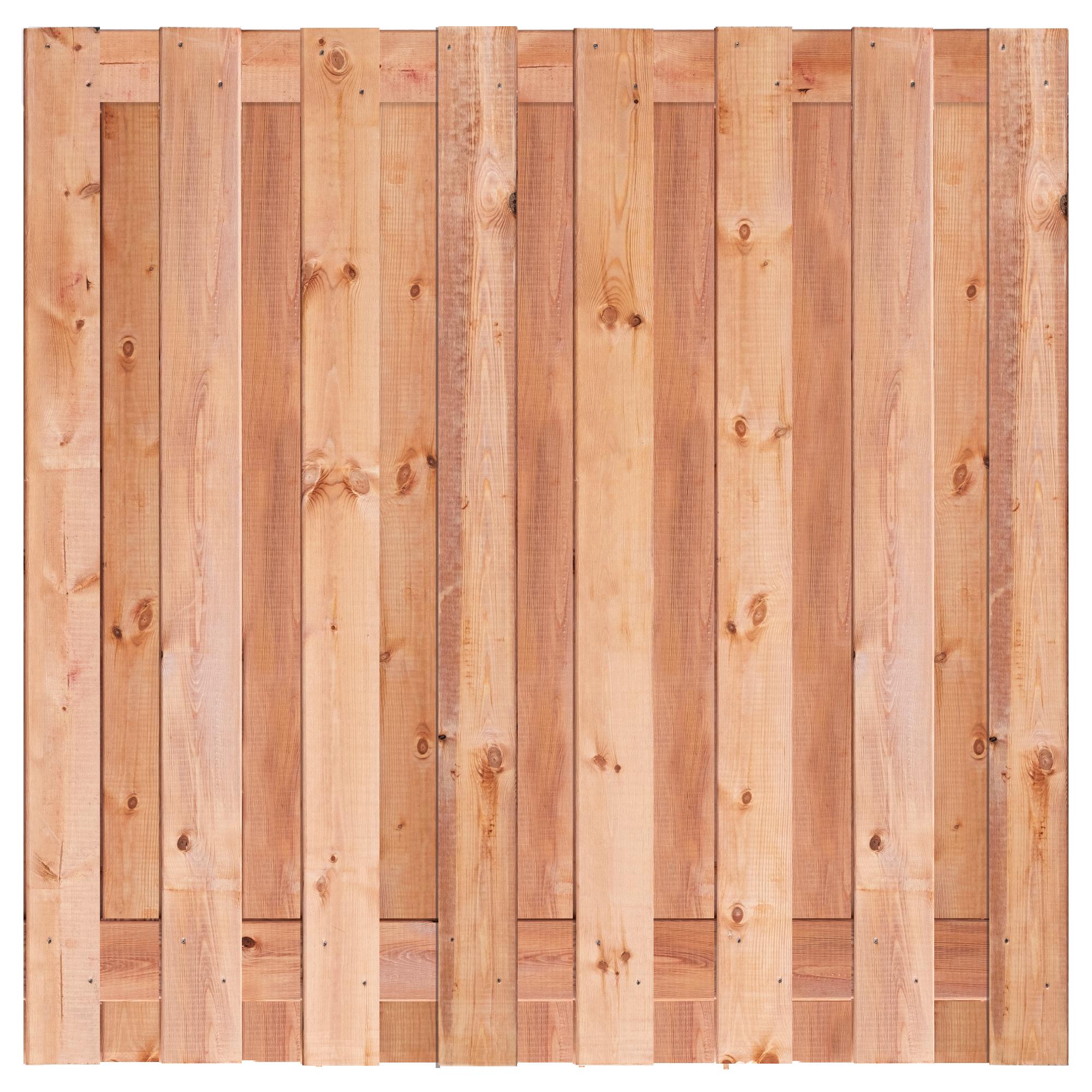 Red class wood tuinscherm