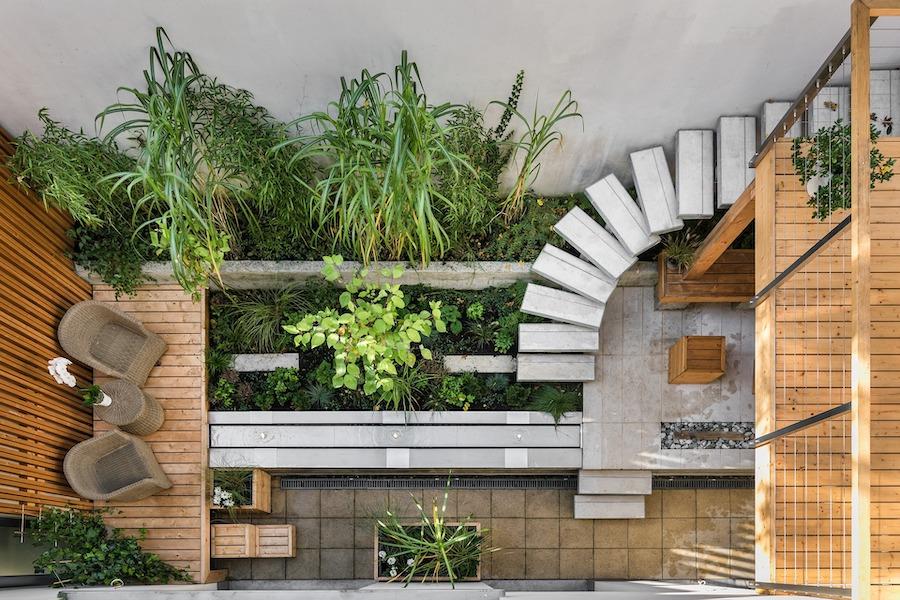 Stadstuin kleine tuin