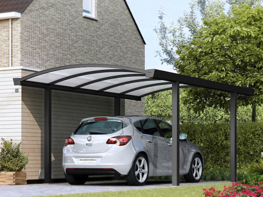 aluminium carport auto's