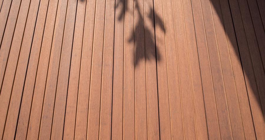 Bamboe vlonder