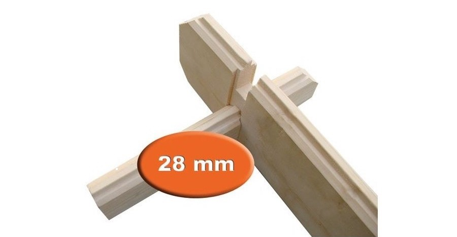 28 mm wanddikte