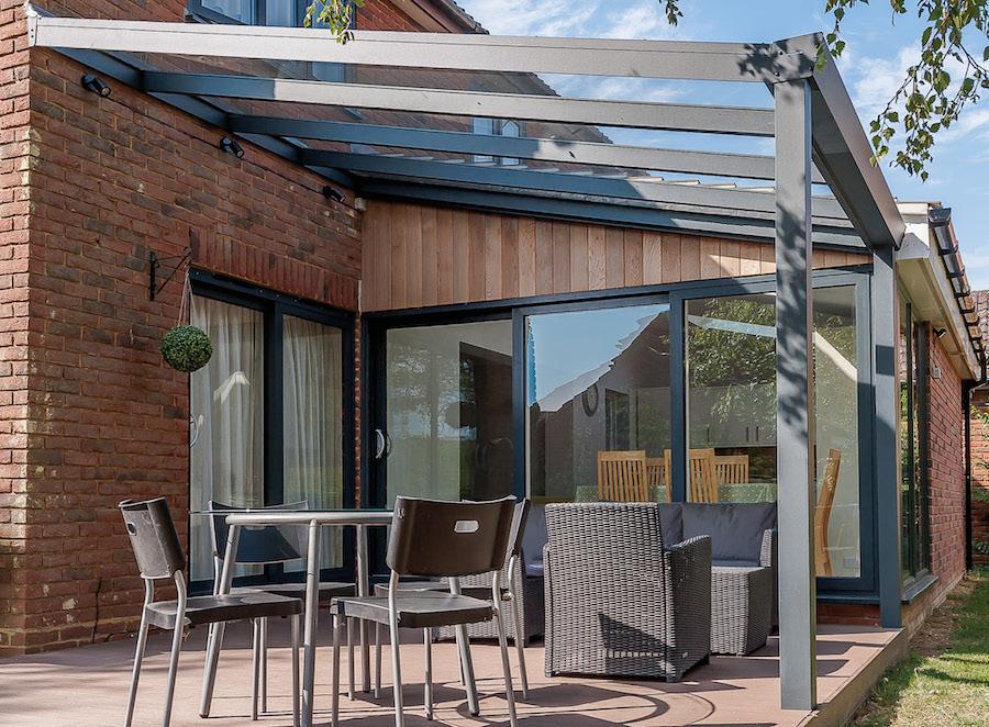 Expert editie aanbouw aluminium veranda
