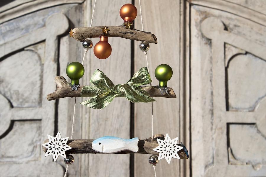 Kerstboom houten takken