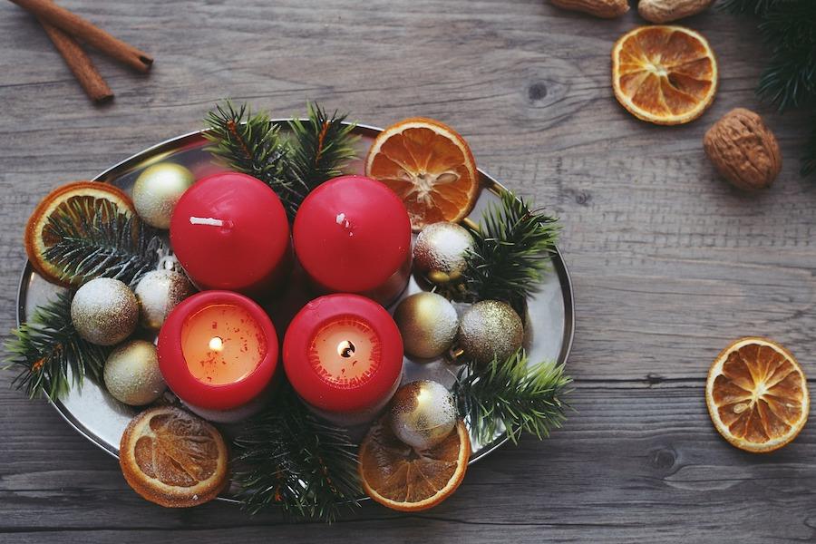 kerstballen als kerstversiering