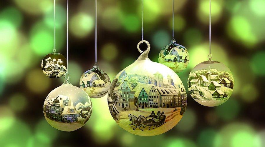 kerstballen versiering