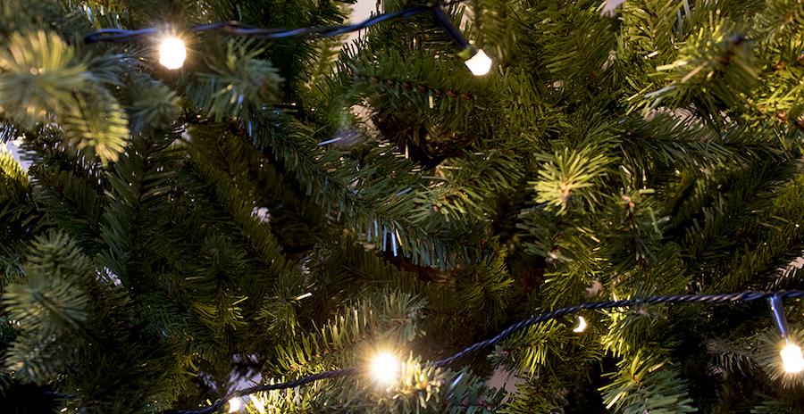 Kunstkerstboom verlichting