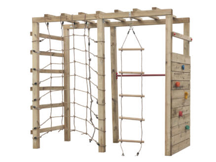 houten klimtoestel voor kinderen 7-12 jaar