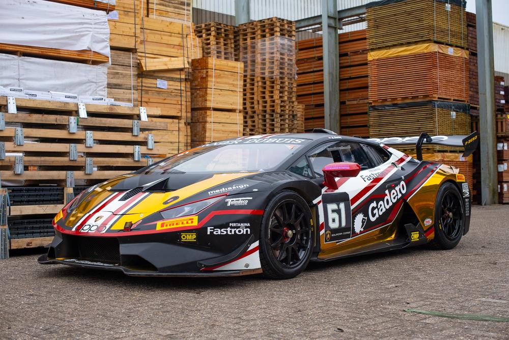 Lamborghini Aventador Evo Super trofeo