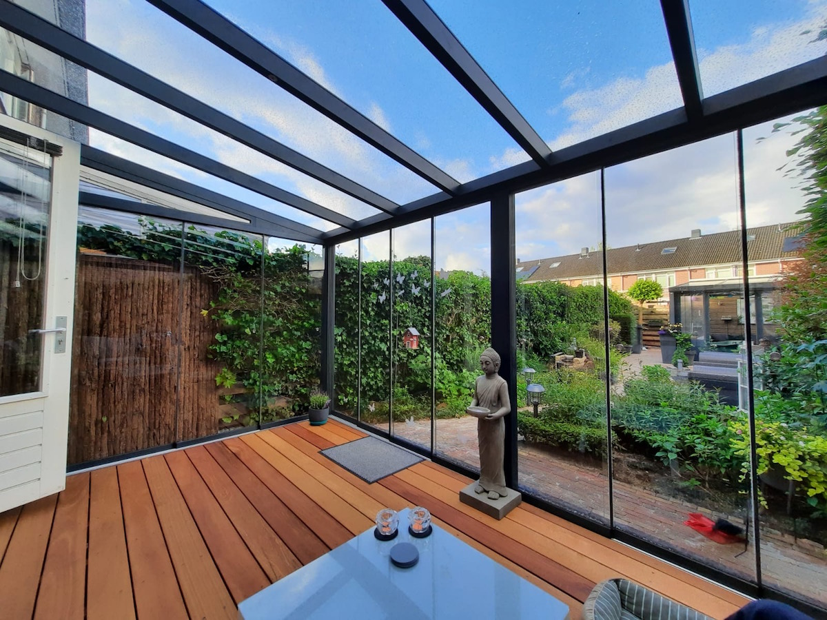 Gardendreams Legend Tuinkamer XL met glas dak
