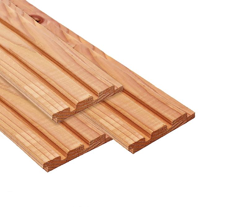red cladd wood rabatdelen