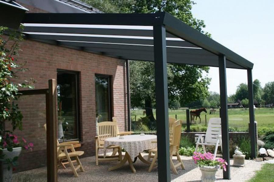 overkapping veranda polycarbonaat platen