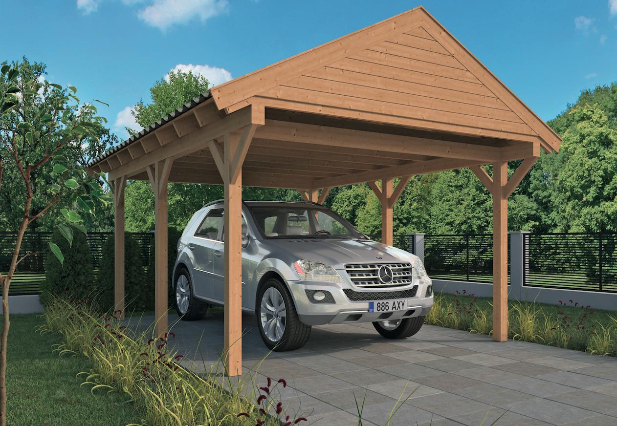 Overkapping Voor Auto : Houten carport bouwen tips overkapping voor auto maken