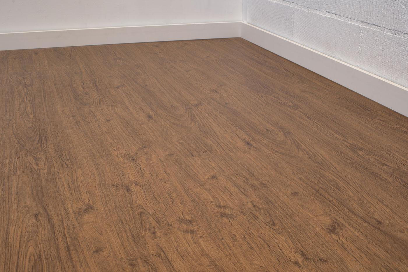 Floer stroken pvc vloer planken gent donker bruin eiken vloeren