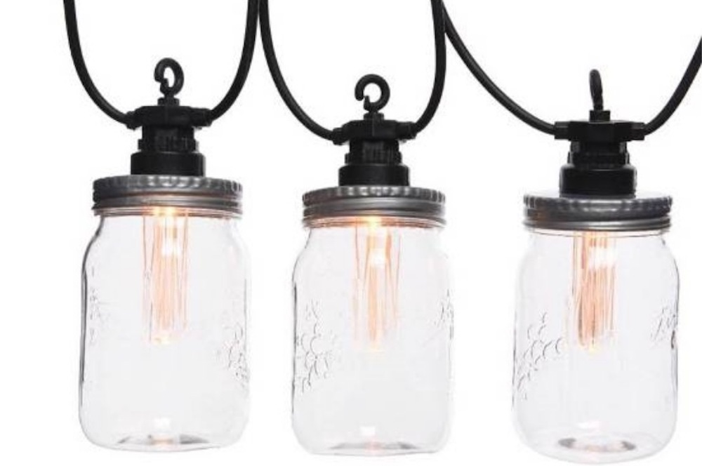 Party Verlichting Tuin : Led mason jar partyverlichting starterkit buiten lampen