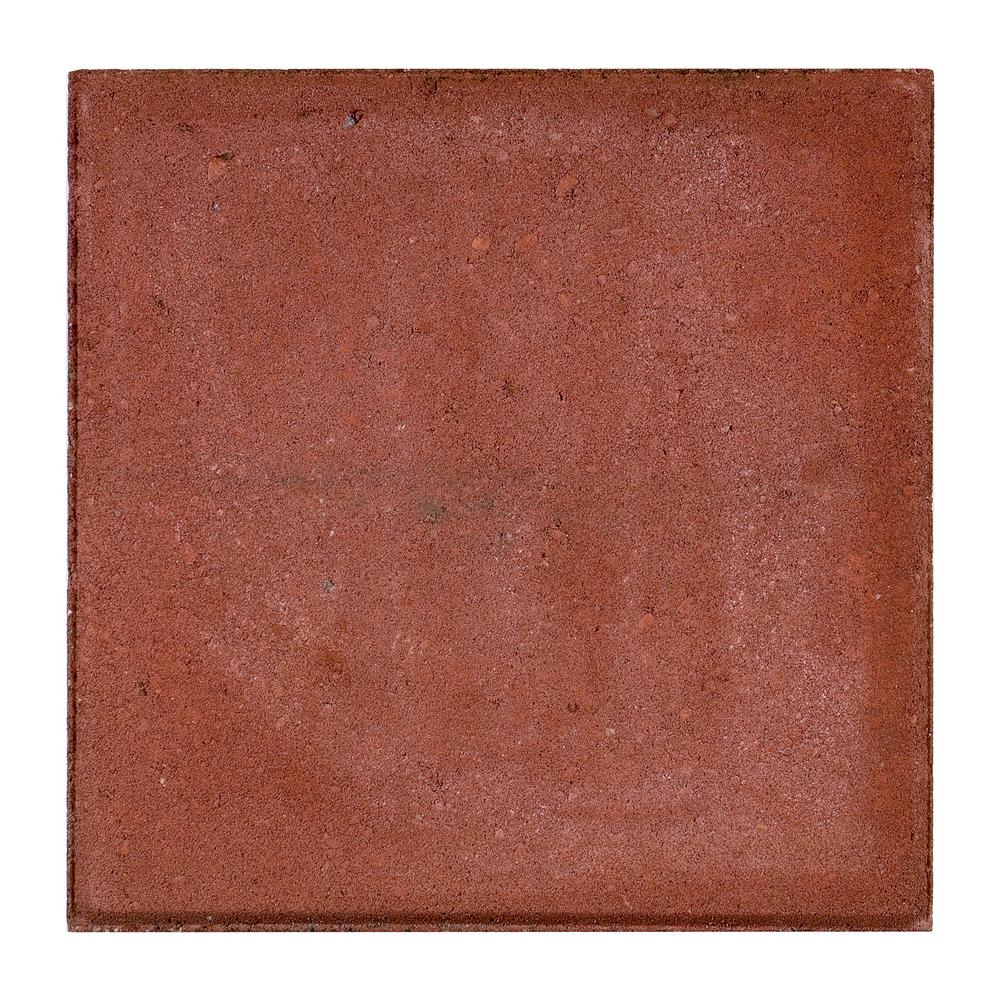 Terrastegels Beton 30x30.Beton Tegels Rood Grijs En Zwart 30 X 30 X 4 5 Sierbestrating