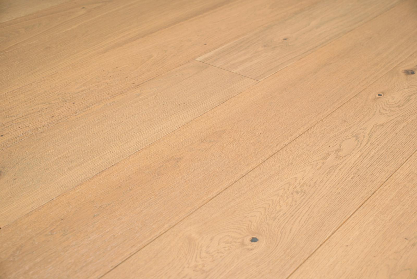 Fesca witte eiken duoplank parket vloer wit houten vloeren eik