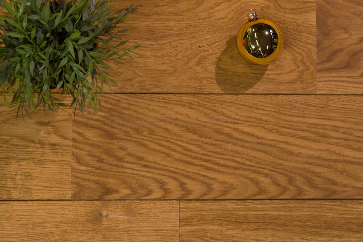 Karamel bruin geolied eiken lamel parket vloer hout duoplank