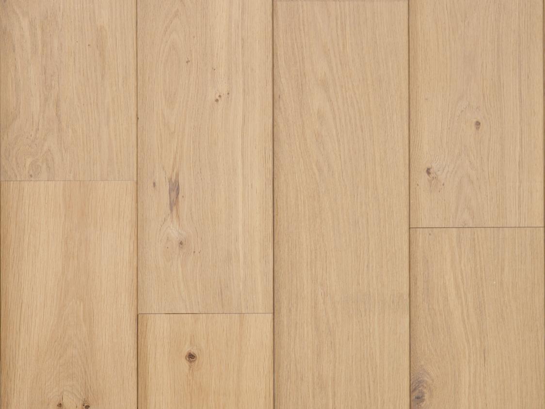 Eiken houten lamel parket vloer onbehandeld hout 1 bis