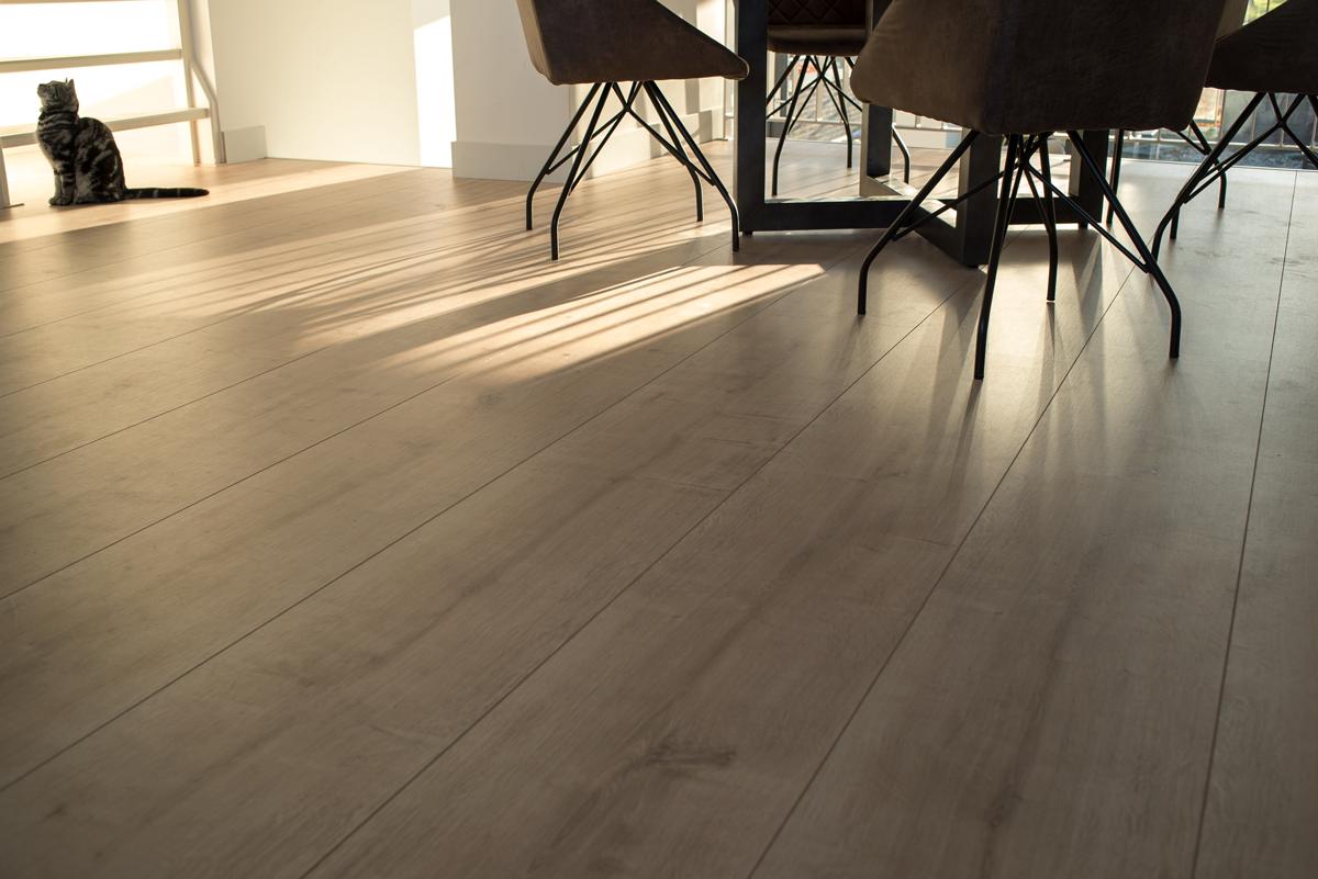 Floer landhuis laminaat vloer licht eiken laminaatvloer houten