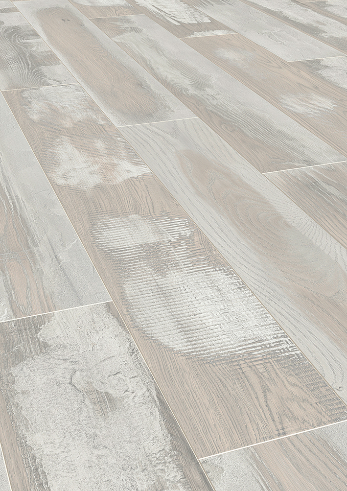 floer sloophout laminaat gekalkt wit eiken witte vloer verouderd
