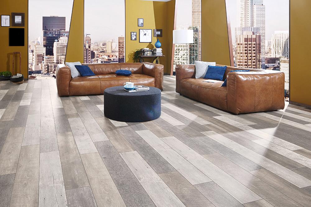 Laminaat Licht Eiken : Floer sloophout laminaat vloer versleten planken licht eiken