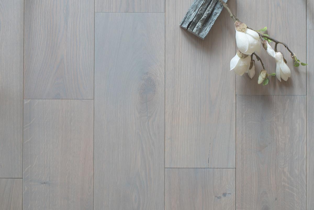 Rustiek eiken lamel parket grijs geolied houten grey vloer 18