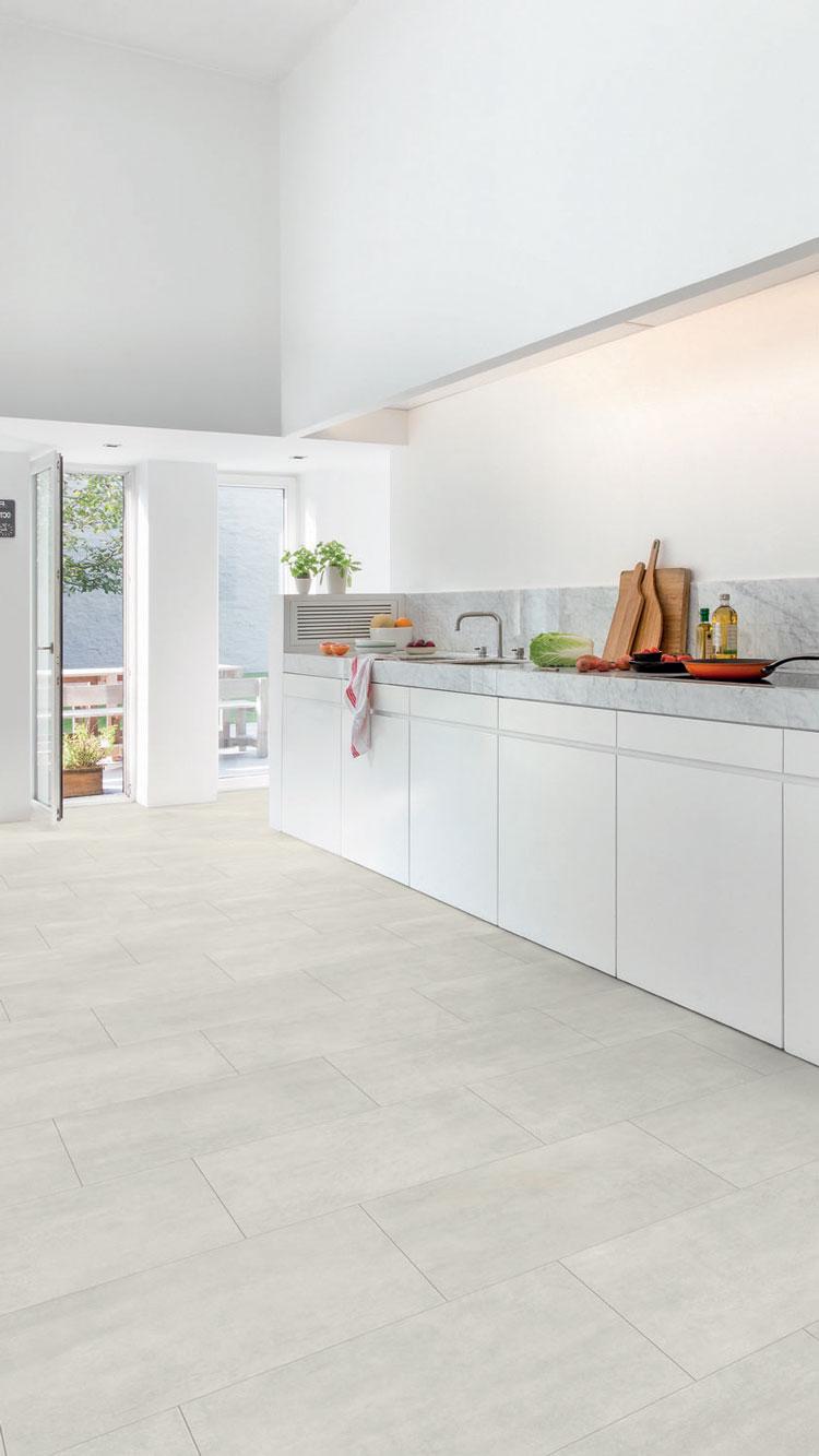 quick step livyn ambient click beton licht amcl40049 tegel. Black Bedroom Furniture Sets. Home Design Ideas