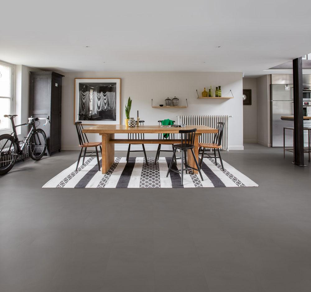 quick step livyn ambient click minimal mediumgrijs. Black Bedroom Furniture Sets. Home Design Ideas