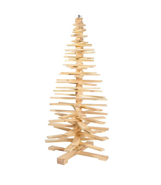 Houten Kerstboom 3d Hoogte 172 Cm Aanbieding