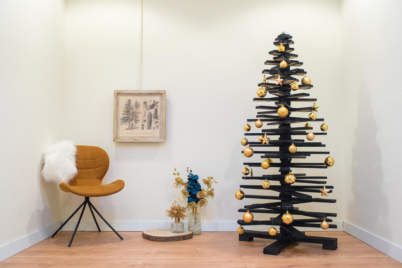 Bouwtekening Kerstboom Steigerhout.Doe Het Zelf Houten Kerstboom Maken