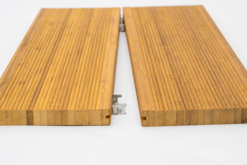 Vlonderplank bamboe cm terrasplank mm voor clips