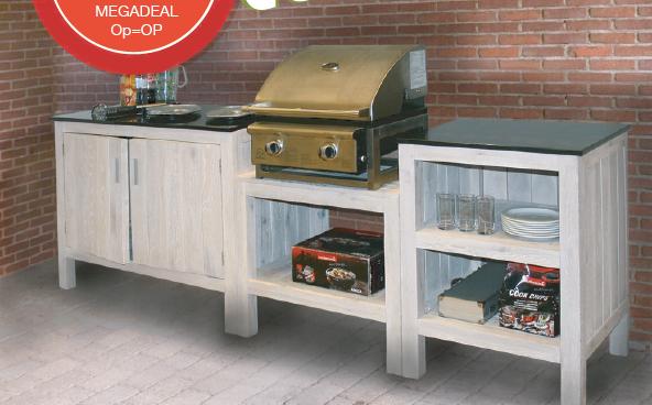 Houten Buiten Keuken : Yummy houten buitenkeuken naturel recreatiespeelgoed
