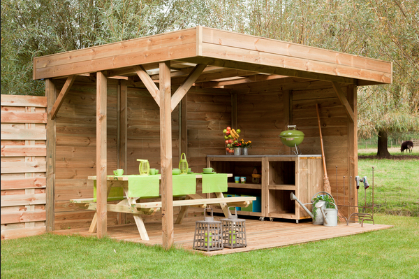 Houten pergola maken zelf pergola van hout bouwen