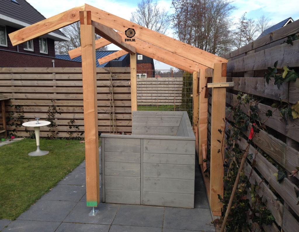 Tuin Veranda Maken : Zelf houten veranda maken veranda van hout bouwen