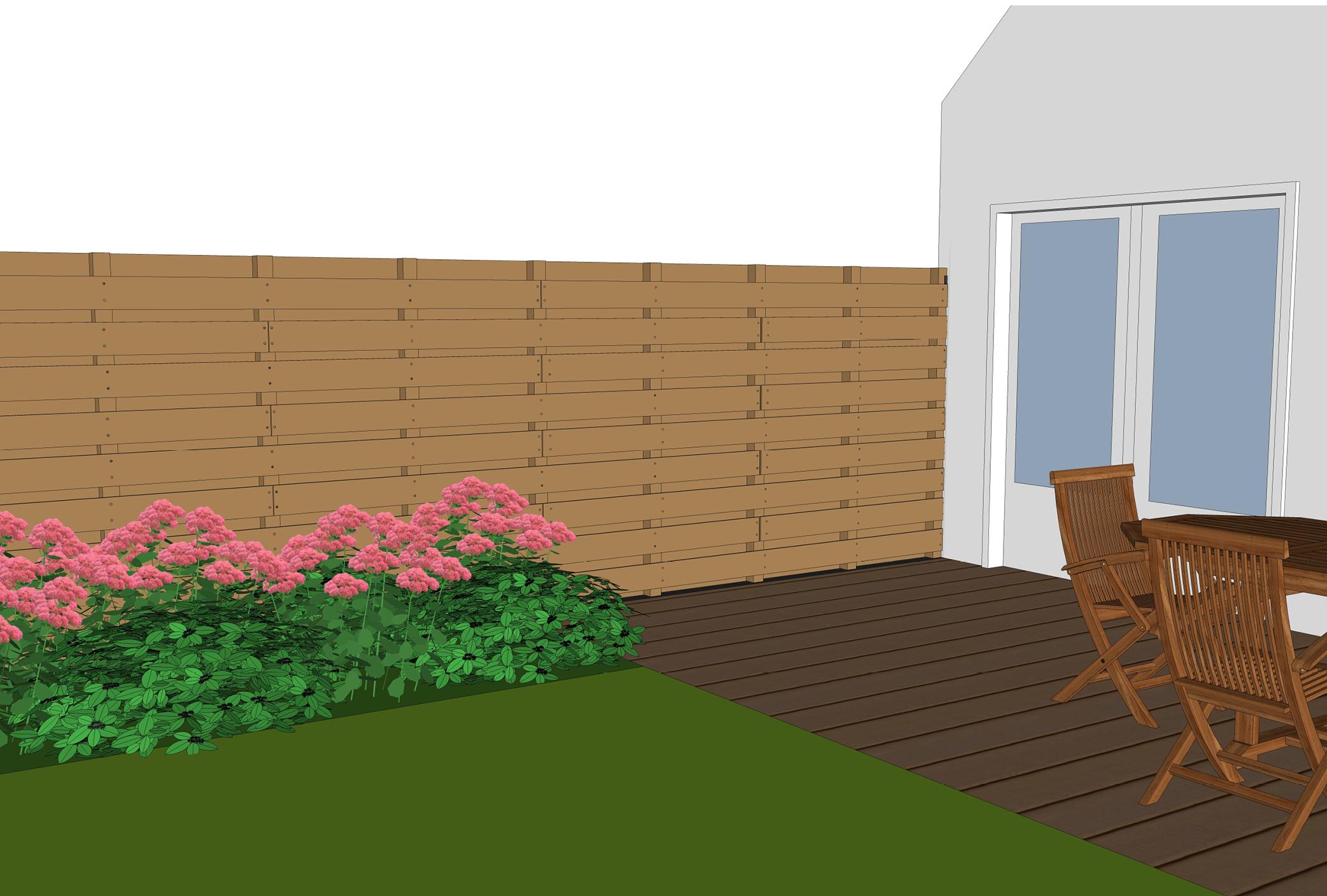 Planken Bevestigen Aan De Muur.Schuttingpaal Aan Muur Bevestigen Vierkante Paal Aan Woning Mo