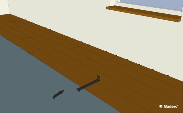Hoe Laminaat Leggen : Zelf laminaat vloer leggen leginstructies tips materiaal bereken