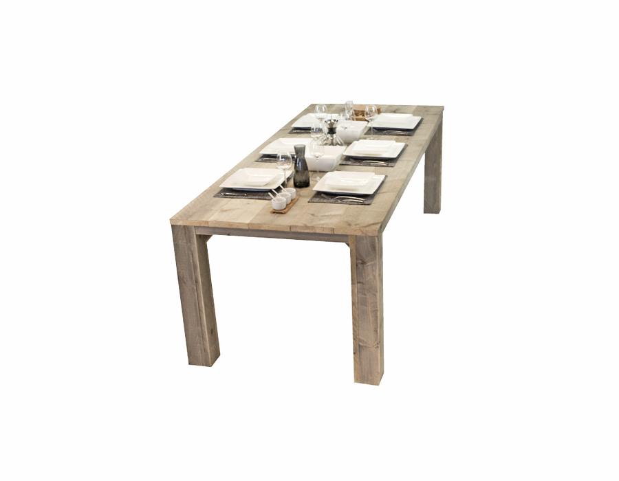 Beton Tafel Buiten : Steigerhouten tuintafel houten eettafel voor buiten op maat