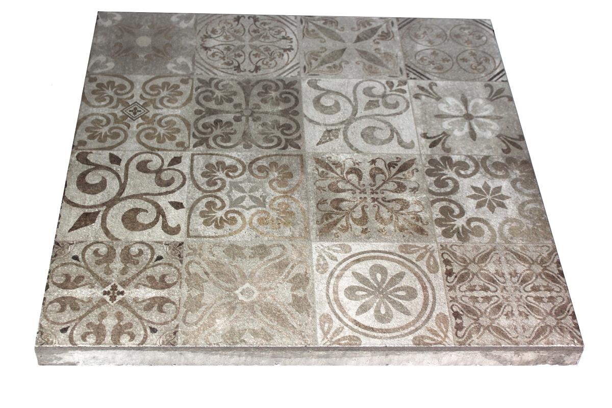 Tegels Met Motief : Print tegel noviton lissabon 60 x 60 x 4 cm terrastegel