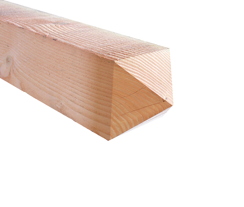 Holzpfosten Spitzkopf Larche Douglasie 15 X 15 X 250 Cm