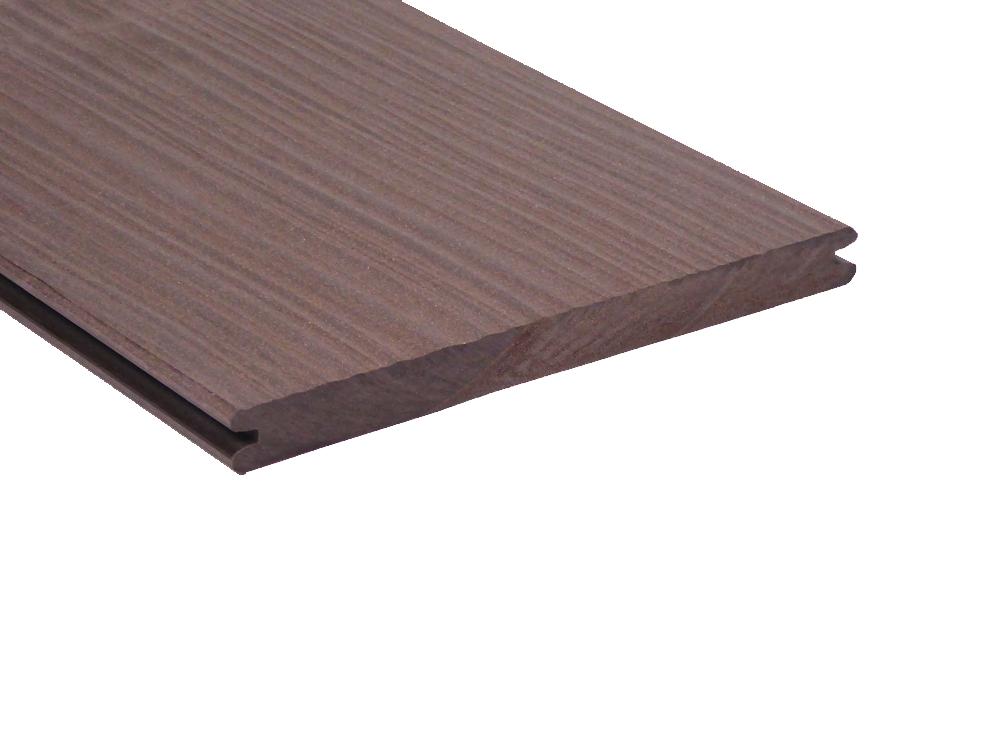 vlonderplank lavabruin composiet megawood 21 x 242 mm. Black Bedroom Furniture Sets. Home Design Ideas