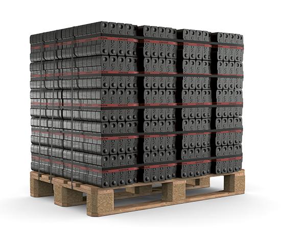 Union bruinkool briketten | Haardhout.com