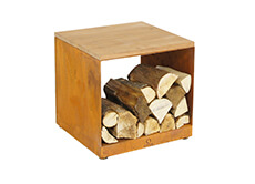 OFYR Wood Storage Hocker | Haardhout.com
