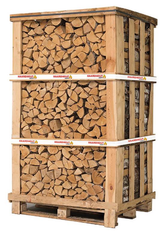 Pallet berkenhout | Haardhout.com