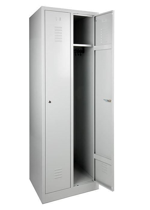 Garderobekast 2-deuren 180 x 60 x 50cm Leverbaar in 3 kleuren 4