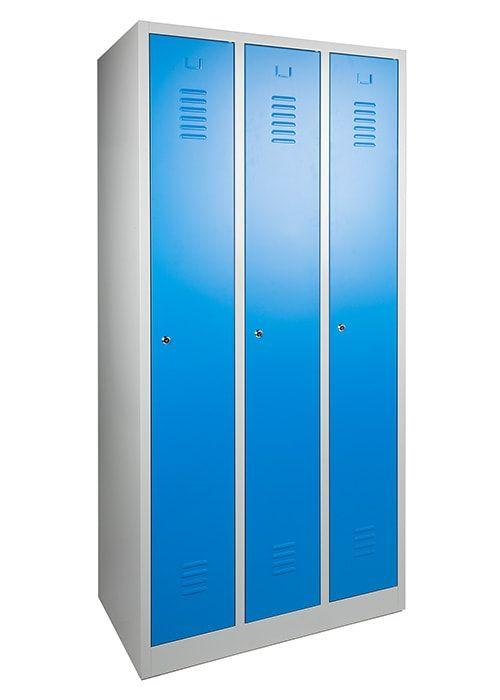 Garderobekast 3-deuren 180 x 90 x 50cm Leverbaar in 3 kleuren 1