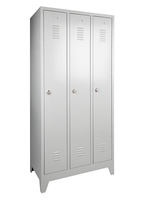 Garderobekast 3-deuren 180 x 90 x 50cm Leverbaar in 3 kleuren 4