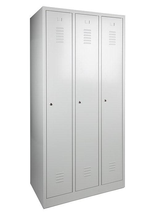 Garderobekast 3-deuren 180 x 90 x 50cm Leverbaar in 3 kleuren
