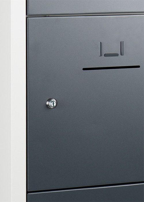 Lockerkast 10-deurs 190 x 80 x 45cm in 5 Kleur Combinaties