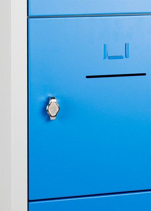 Lockerkast 10-deurs 190 x 80 x 45cm in 5 Kleur Combinaties 5
