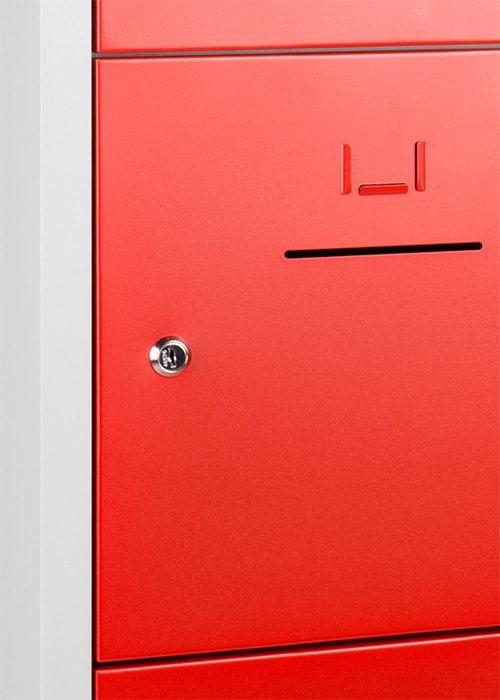 Lockerkast 10-deurs 190 x 80 x 45cm in 5 Kleur Combinaties 6